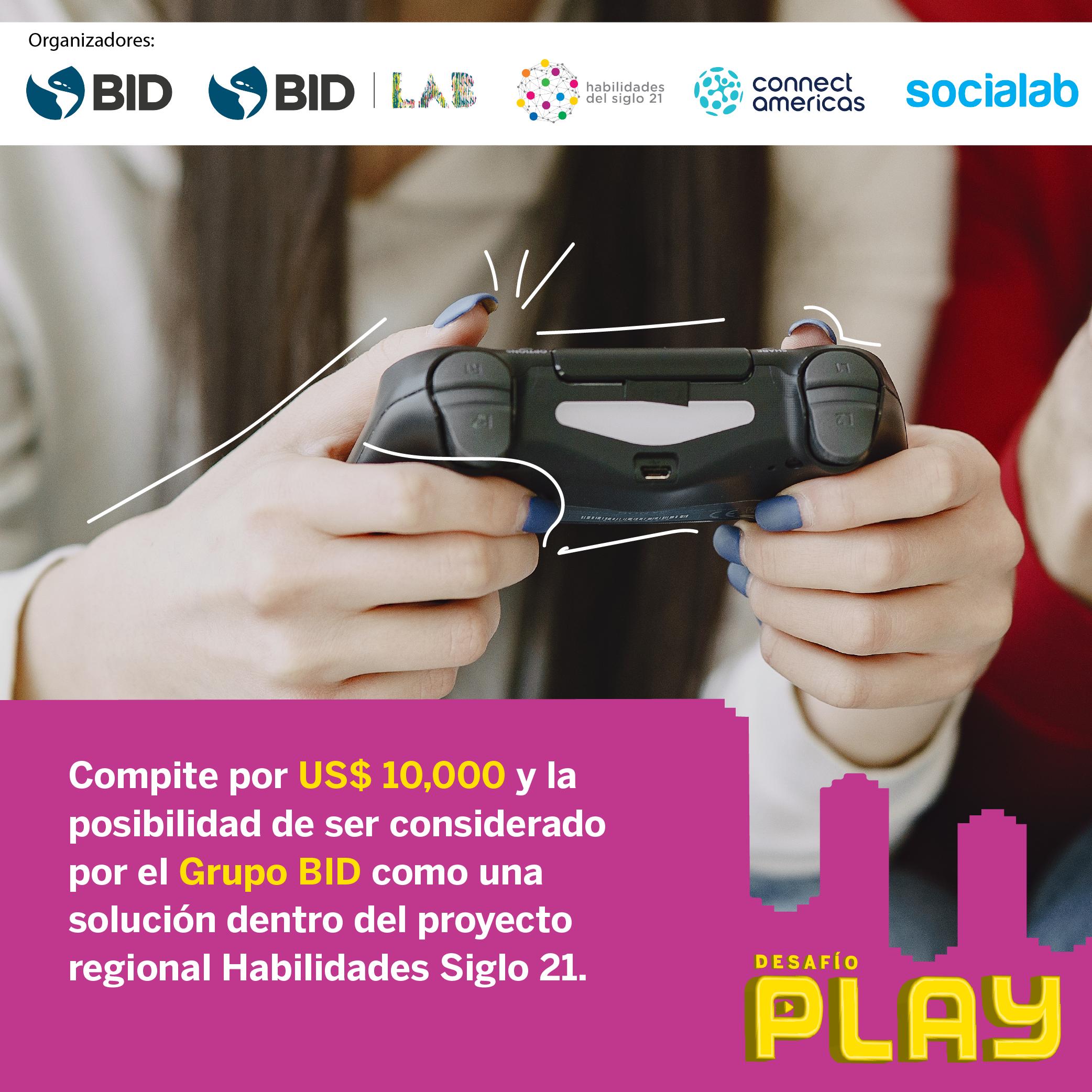 BID lanza el desafío global PLAY sobre videojuegos que están transformando la educación
