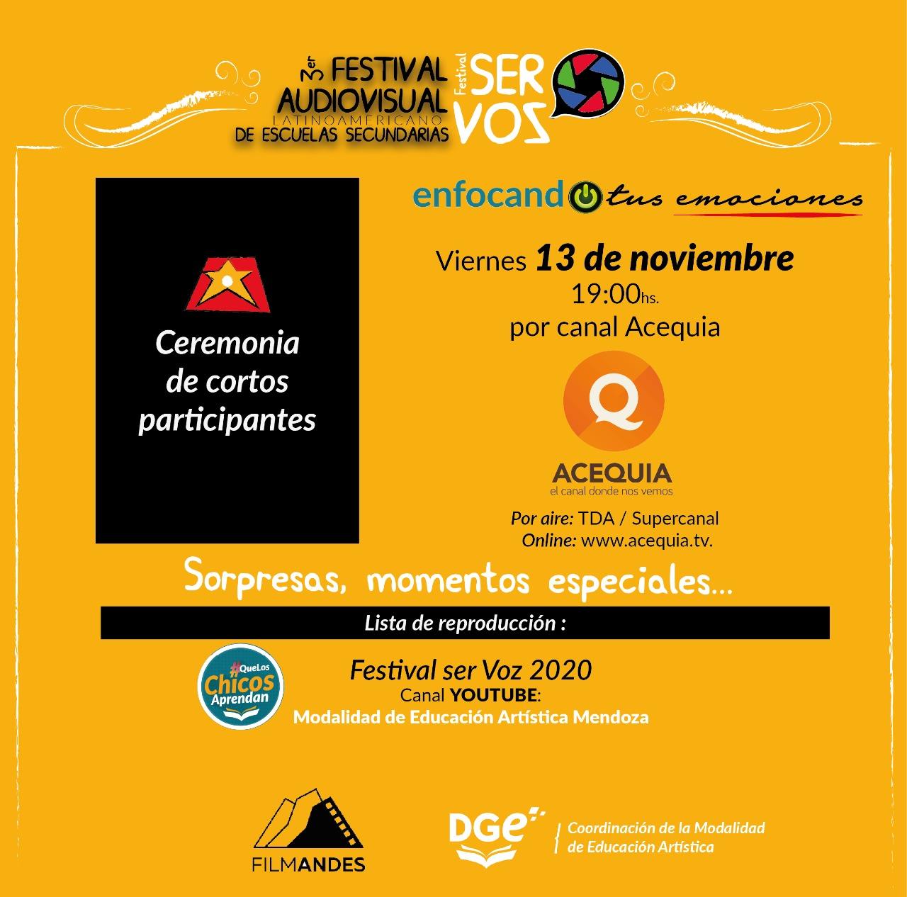 """Finaliza el Festival Audiovisual Latinoamericano """"Ser Voz"""""""