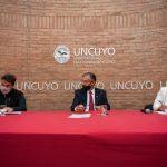 La UNCUYO y FILMANDES se asocian para desarrollar contenidos audiovisuales y propuestas culturales
